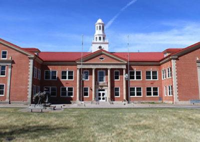 Alamosa State University Richardson Hall